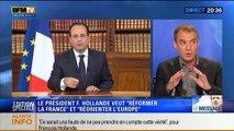 """20H Politique: Allocution de François Hollande: """"Mon devoir, c'est réformer la France et réorienter l'Europe"""" - 26/05 3/4"""