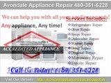 Avondale Appliance Repair 480-351-6228