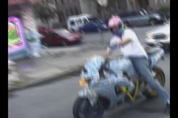 Motorcycles Doing Wheelies