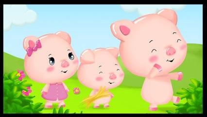 Les trois petits cochons - Dessin animé