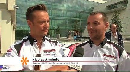 David Halliday et le Team IMSA Performance MATMUT sur LCN