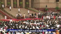 Inde : Narendra Modi est investi Premier ministre