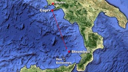 Maxis et TP52 en goguette à Capri