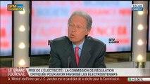 Philippe de Ladoucette, président de la Commission de régulation de l'énergie, dans Le Grand Journal - 27/05 3/4