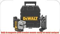 DEWALT DW089K Self Leveling 3 Beam Line Laser Black