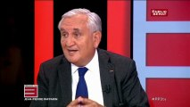 """Jean-Pierre Raffarin sur la réforme territoriale : """"ce que je crains c 'est que cela soit l'acte 1 de la décentralisation"""""""