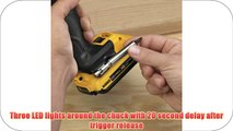 DEWALT DCF895D2 20V Max XR Lithium Ion Brushless 3-Speed 1/4-Inch Impact Driver