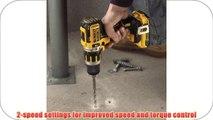 DEWALT DCD795D2 20V XR Lithium Ion Brushless Compact Hammer Drill Kit