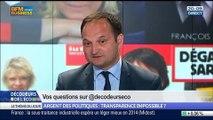 Argent des politiques: est-ce que la transparence est impossible ?, dans Les Décodeurs de l'éco - 27/05 4/5