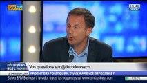 Argent des politiques: est-ce que la transparence est impossible ?, dans Les Décodeurs de l'éco - 27/05 2/5
