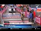 Nairo Quintana y Rigoberto Urán, el 1-2 en la clasificación general del Giro de Italia