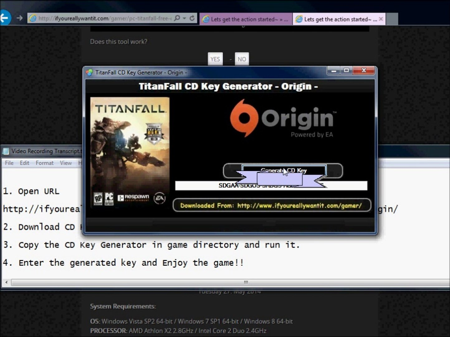 Where to download Titanfall crack??