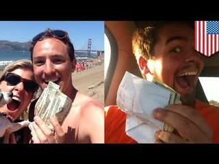 @HiddenCash: Millionaire leaves clues to envelopes of cash