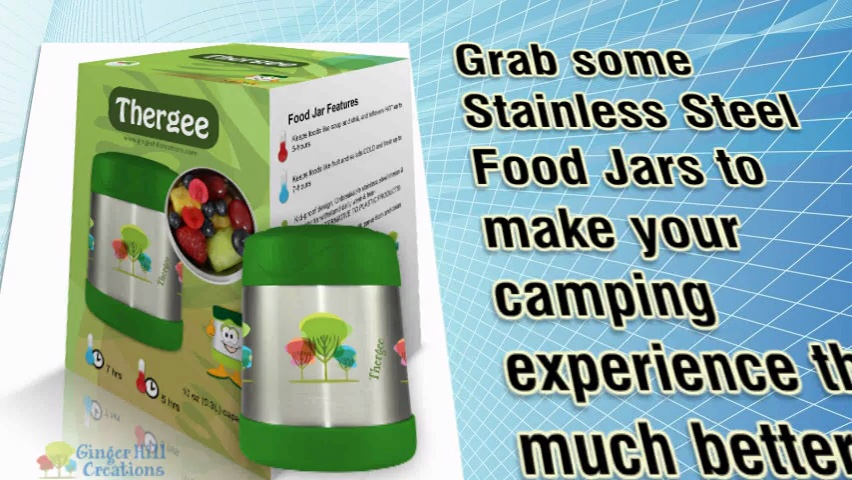 Camping With Insulated Food Jars