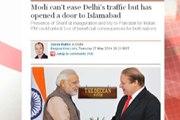 Dunya News - US, Uk media sees Nawaz-Modi meeting crucial for the future of Pakistan and India