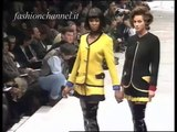 """Gianni Versace"" Fashion Show Autumn Winter 1991 1992 Milan Fashion Week Pret a Porter Women 1 of 3"