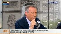 François Bayrou, invité de Bourdin Direct sur BFMTV - 280514
