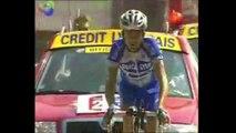 Cyclisme - Tour de France 2004 : Le 7e maillot à pois de Richard Virenque (vidéo)