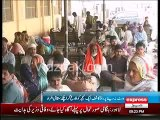 Faisalabad Doctors on strike against PML N MPA Rao Kashif misbehaviour with Doctor