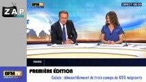 Zapping Actu du 29 Mai 2014 - Calais: démantèlement de trois camps de 650 migrants
