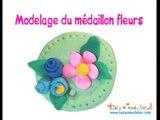 Préparer la Saint Valentin des enfants - Médaillon en pâte à modeler séchant à l'air
