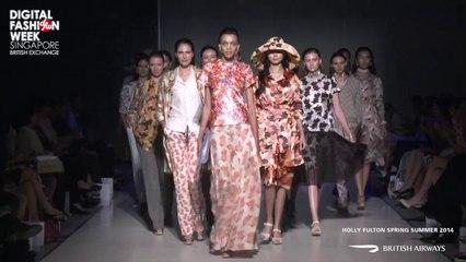 Holly Fulton X Digital Fashion Week Singapore 2013