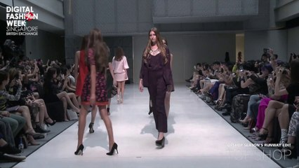 Topshop X Digital Fashion Week Singapore 2013