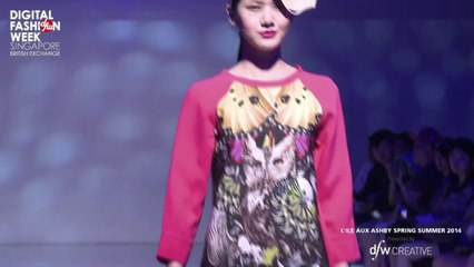 L'ILE AUX ASHBY X Digital Fashion Week Singapore 2013