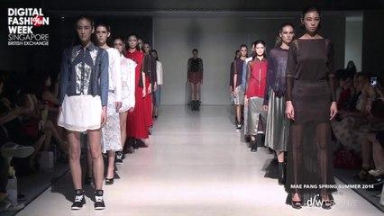 Mae Pang X Digital Fashion Week Singapore 2013