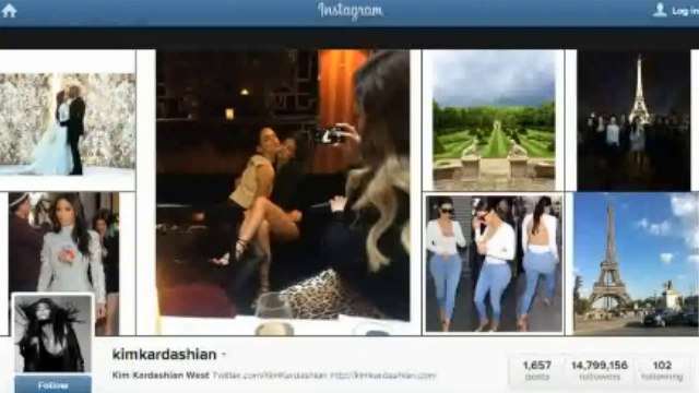 Kim Kardashian becomes Kim Kardashian West