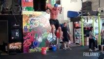 Compilation de FAILS pendant des séances de fitness et muscu!