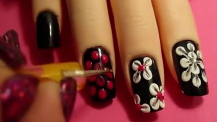 Stylish Nail Art Video