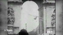 Le jour où un avion est passé sous l'Arc de triomphe