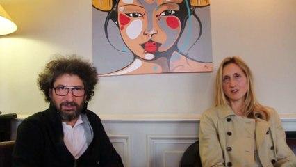 Interview de Stéphanie Valloatto et Radu Mihaileanu pour Caricaturistes Fantassins de la démocratie