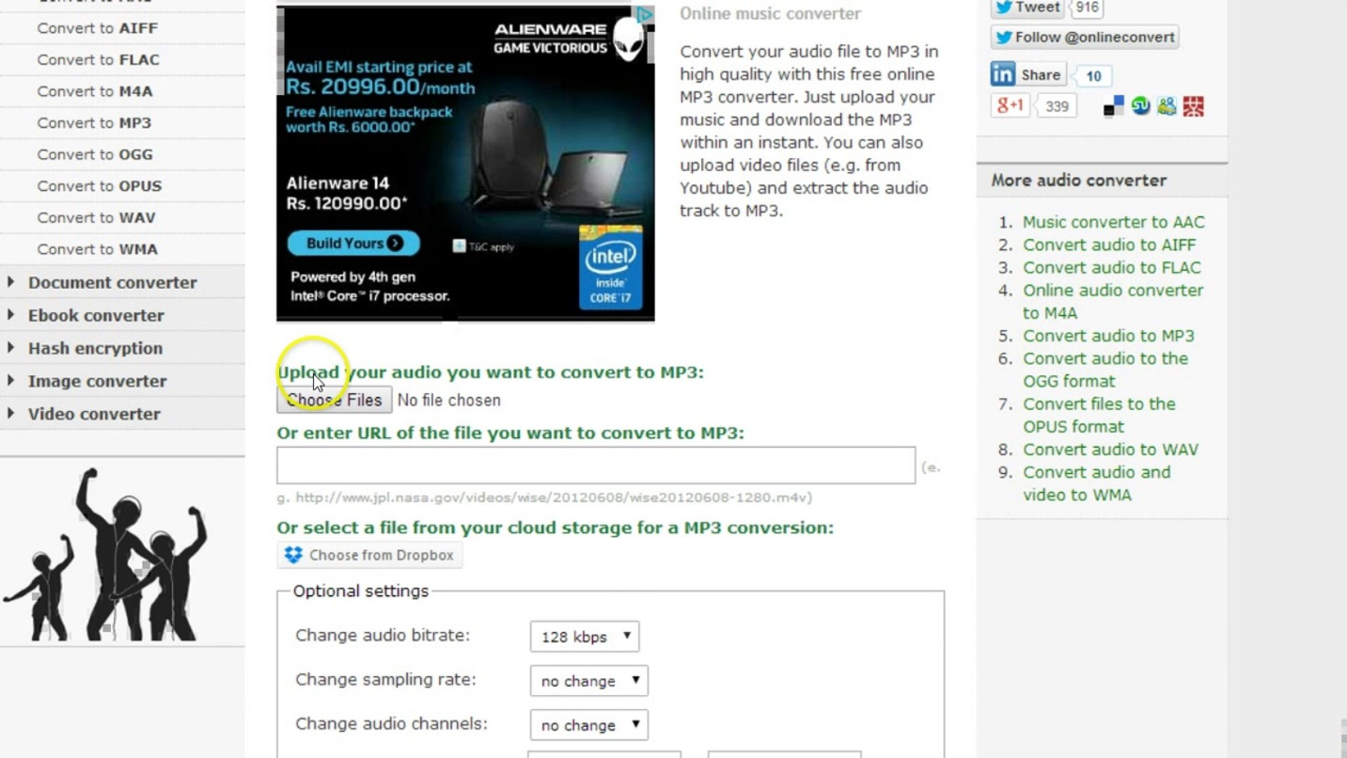 How to Convert Video to MP3 Online-Free Online File converter ?