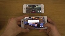GTA San Andreas Huawei Ascend P7 vs. iPhone 5S HD Gameplay Comparison Review