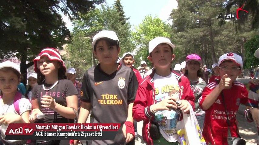 Mustafa Müjgan Boydak İlkokulu Öğrencileri AGÜ Sümer Kampüsünde