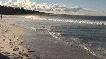Australie-Tasmanie: Fin de journée sur Bay of Fires...
