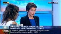Politique Première:  Manuel Valls est plus populaire que François Hollande pour les présidentielles de 2017 – 30/05