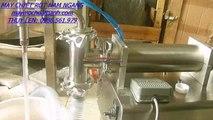 máy chiết rót dầu nhớt , máy chiết rót thuốc trừ sâu, máy chiết rót dịch lỏng 1 vòi
