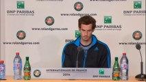 Roland-Garros - Murray commente la rumeur Mauresmo