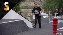Dannie Carlsen - 1st Final Skate - FISE World Montpellier 2014