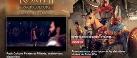 Total War : Rome II - Pirates et Pillards - Bande-annonce officielle