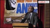 Ankara Bakan Eker Necip Fazıl'ı Anlattıbakan Eker Necip Fazıl'ı Anlattı