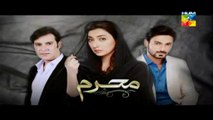 Mehram Full Episode 4 HUM TV Drama - 9th October 2014 - Ayesha Khan