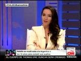 Natalia Oreiro _ Ismael Cala CNN_ 08.09.2014
