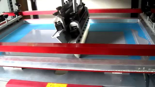 Film Plane Screen Printing Machine Flat Screen Printer