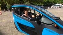 On a testé pour vous l'I-Road, la voiture electrique en autopartage à Grenoble