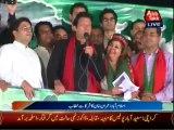 Imran Khan Speech in PTI Azadi March at Islamabad - 9th October 2014