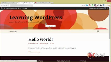 01 - Dashboard Overview - WordPress 4.0 Tutorial in Urdu/Hindi